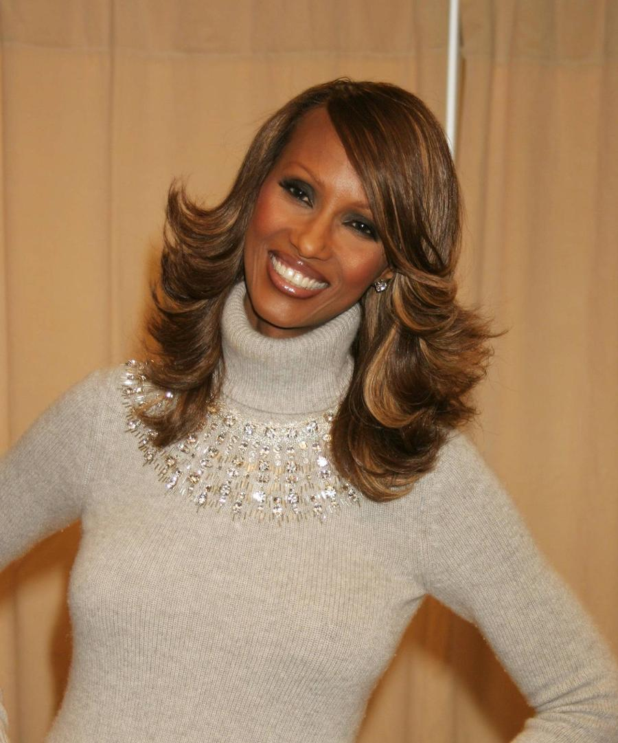 Iman Opens Up On Tv About Marriage To David Bowie