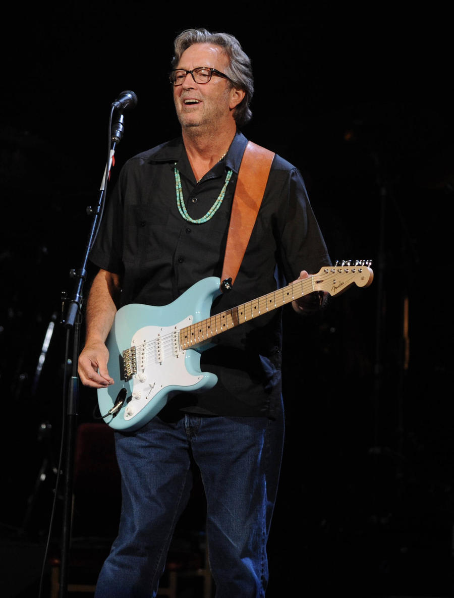 Eric Clapton's Guitar Skills Limited By Severe Nerve Damage