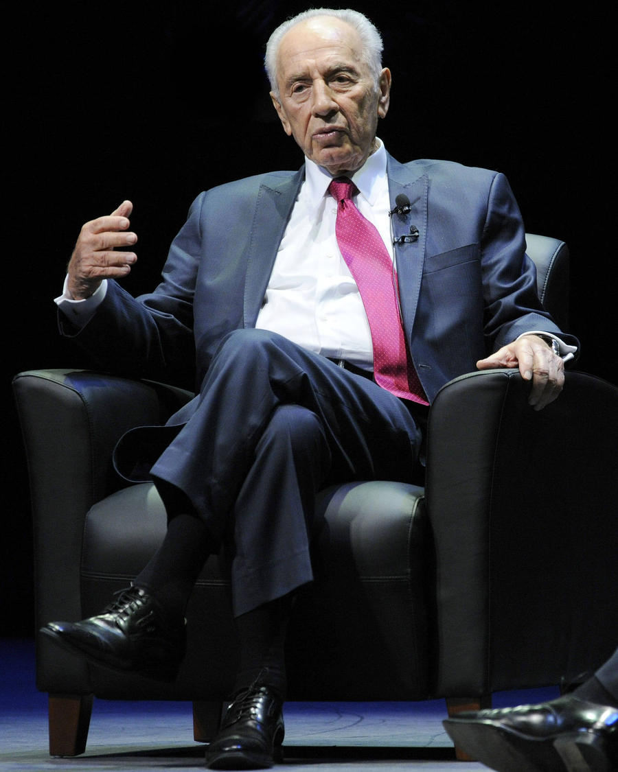 Former Israeli Leader Shimon Peres Dead At 93