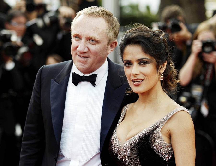 Salma Hayek's Husband Is Seventh On French Rich List