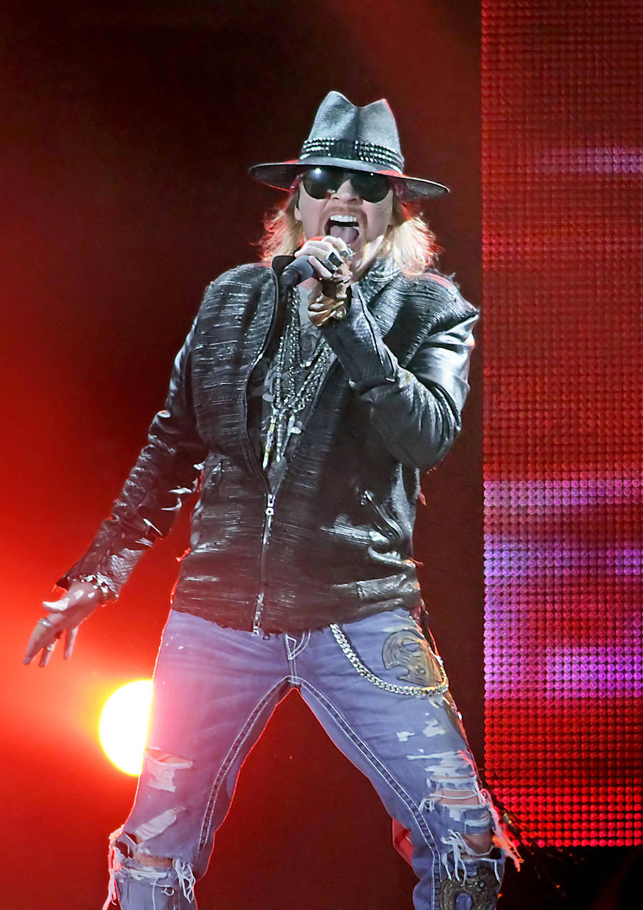 Guns N' Roses Fan Killed In Bus Accident