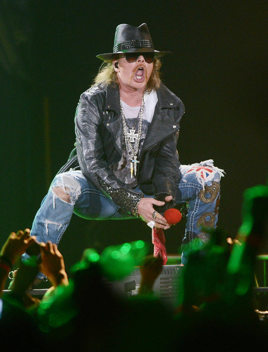 Will Axl Rose Join Ac/dc For North American Dates?