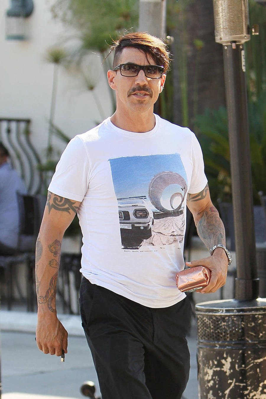 Anthony Kiedis Struggled To Keep Cool Working With Elton John