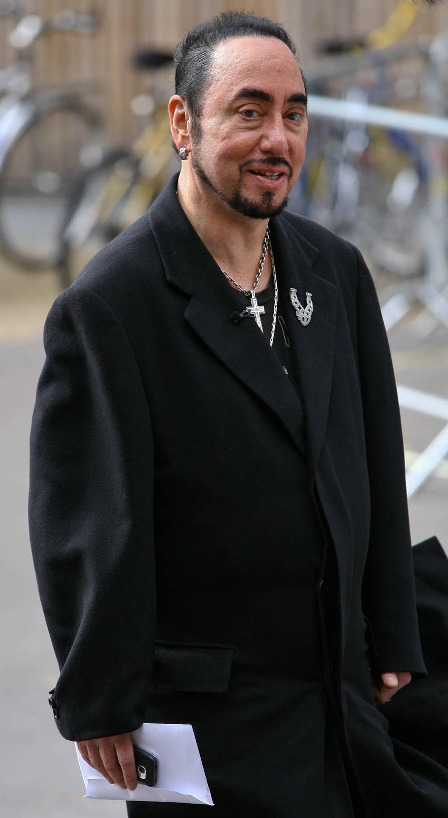 David Gest's Ashes Scattered In English Beauty Spot