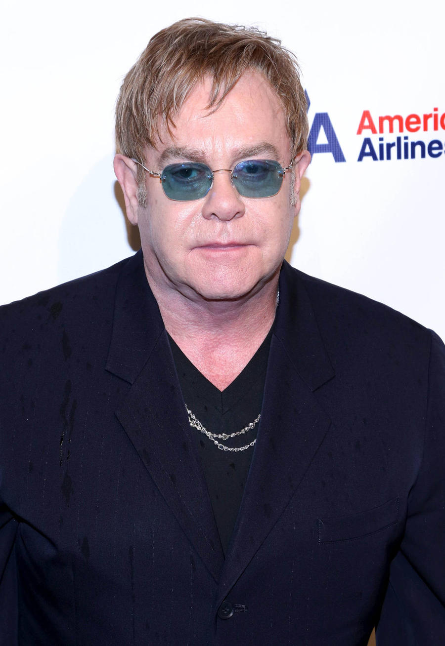 Elton John Sings Godmother Lady Gaga's Praises