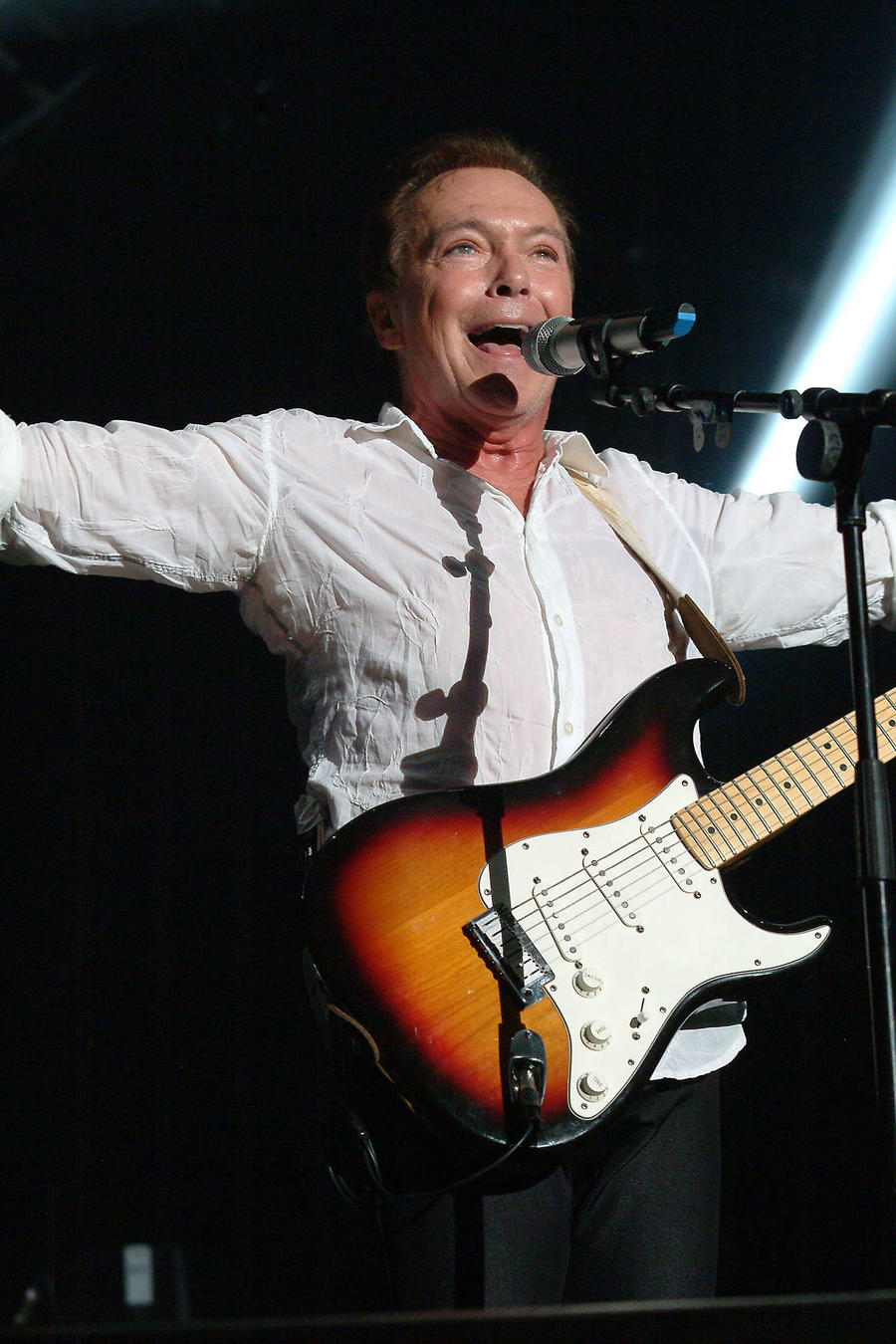 David Cassidy Kicks 'Insensitive' Fan Out Of Concert