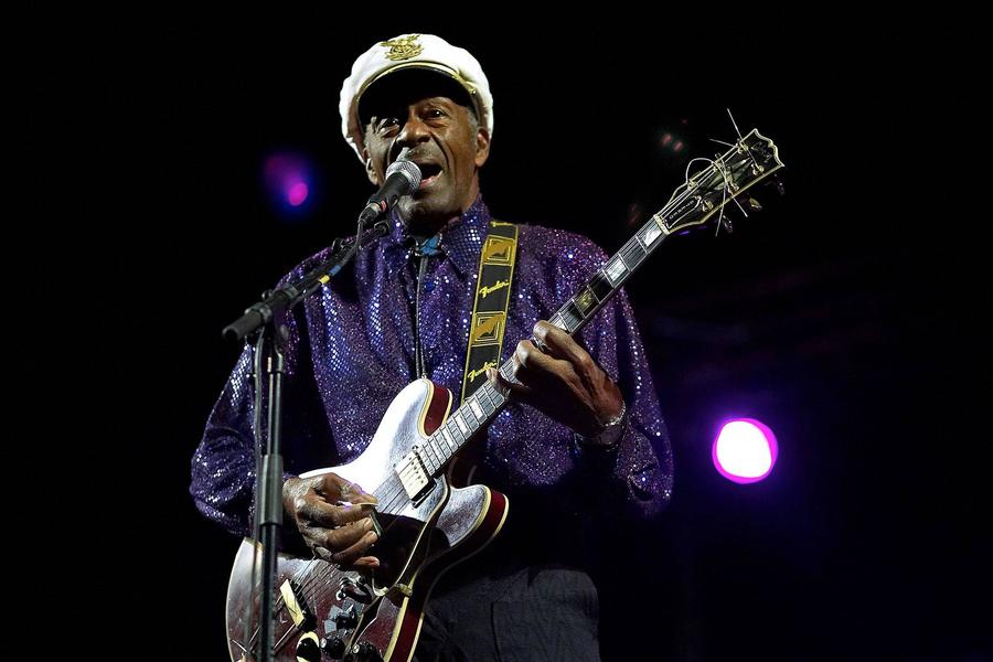 Chuck Berry Set For Highest U.s. Chart Album In Over 40 Years