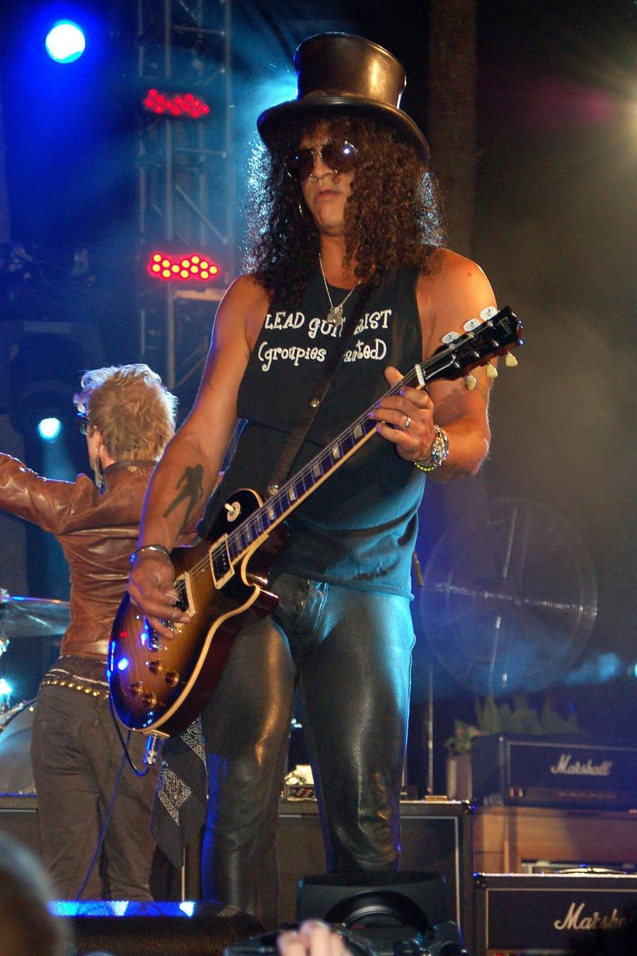 Slash's Penchant For Leather Pants Cost Him Stone Roses Gig - Report