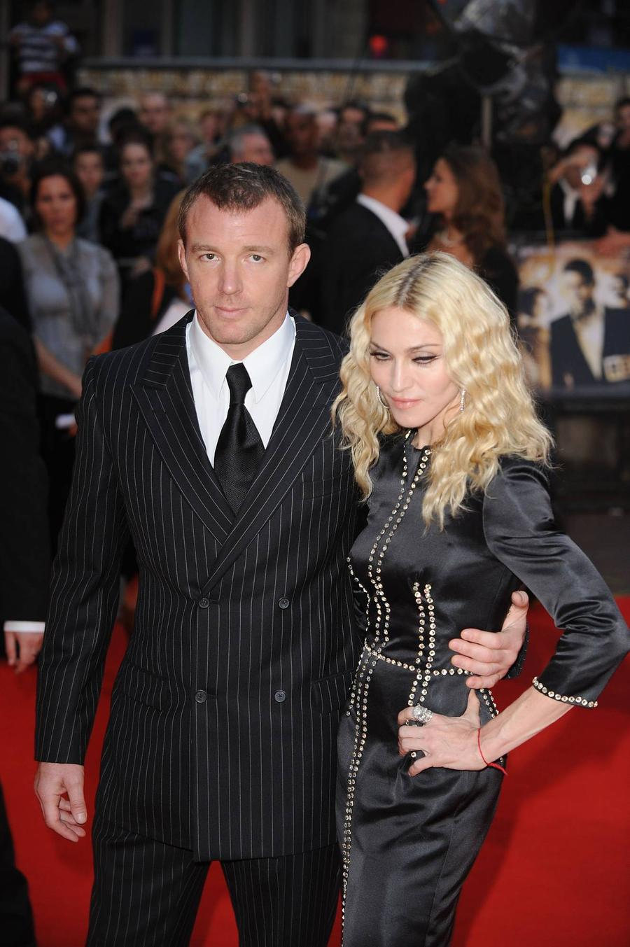 Guy Ritchie Seeks Madonna Custody Battle Support From Dad Activists