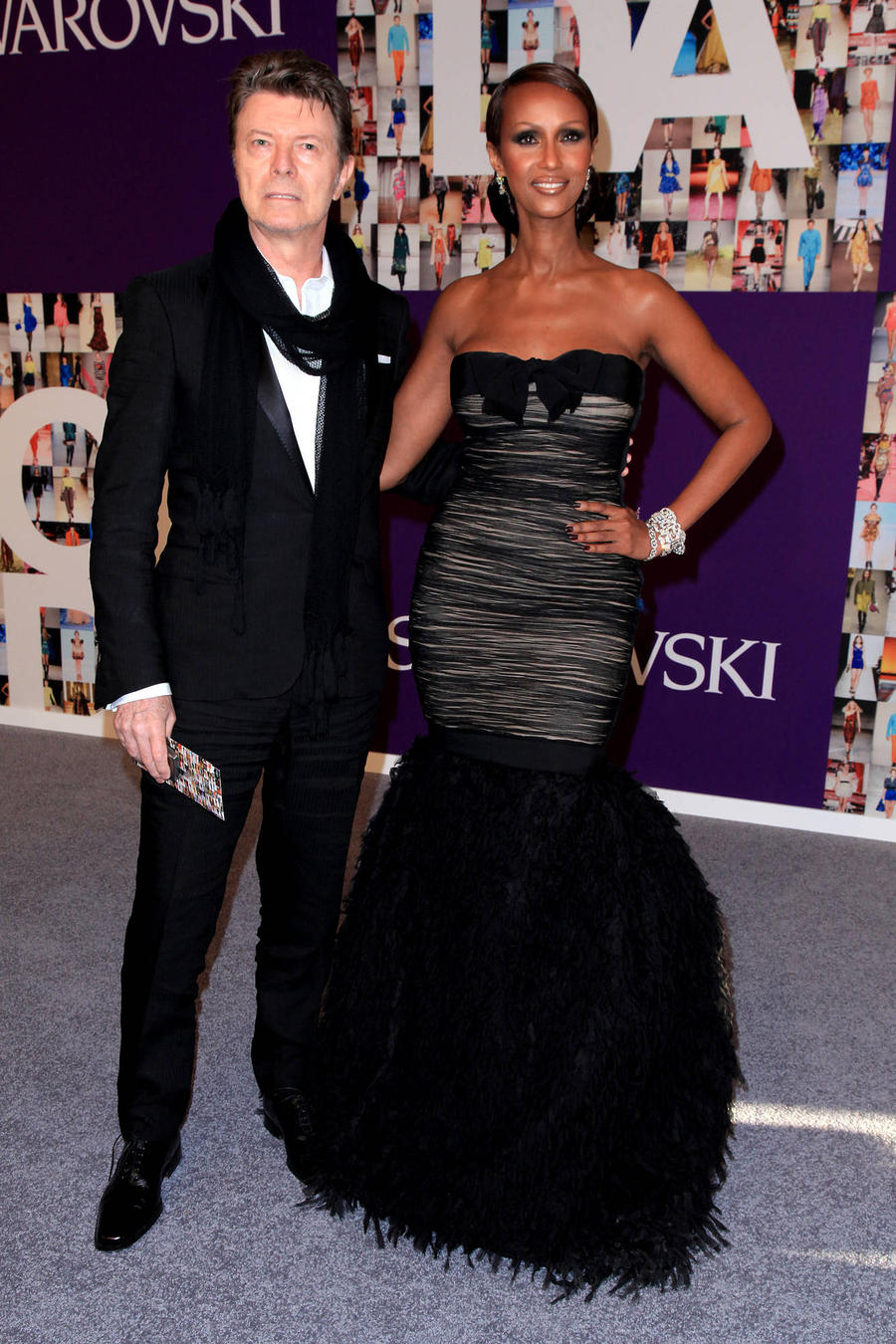Iman Enjoys First Night Out Since David Bowie's Death