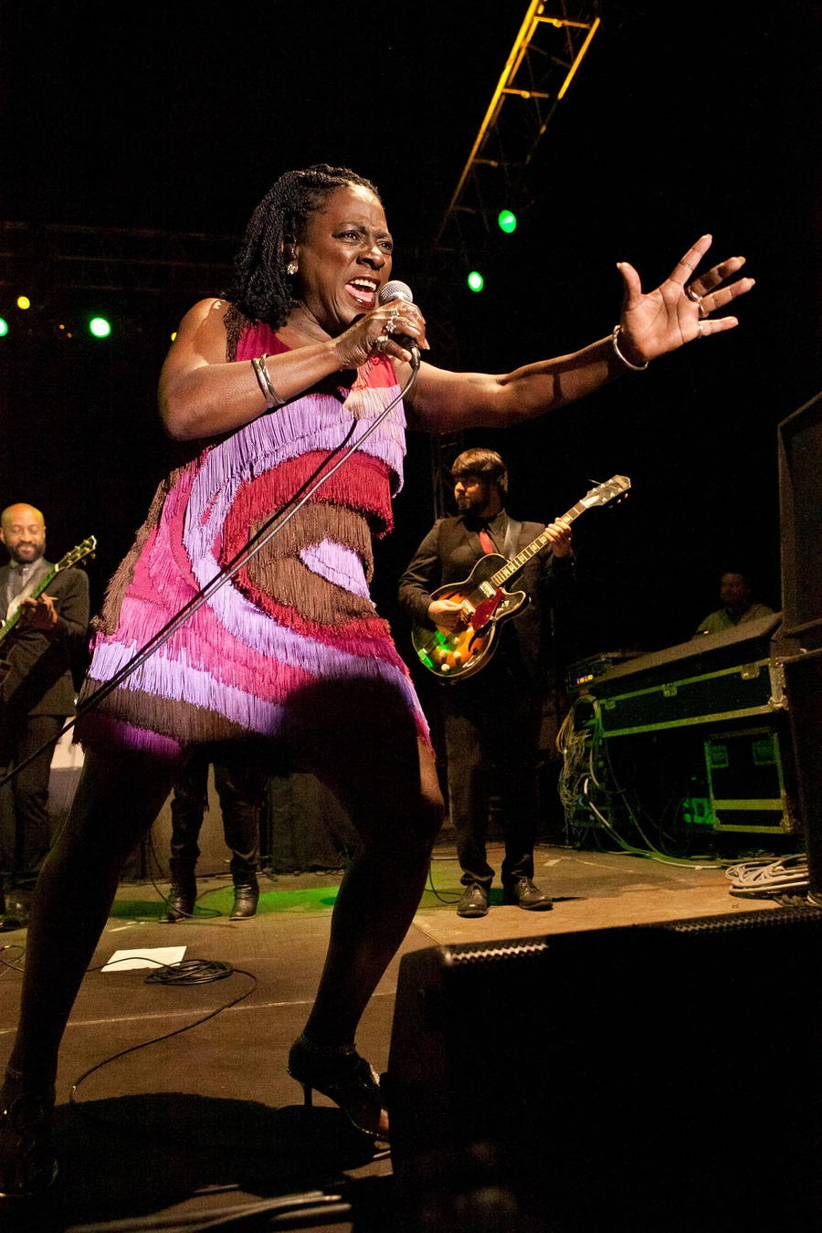 Sharon Jones 'Blamed Donald Trump For Election Night Stroke'