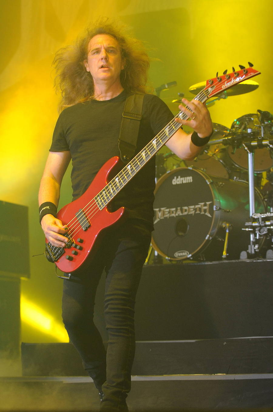 Megadeth Bassist David Ellefson Breaks Foot