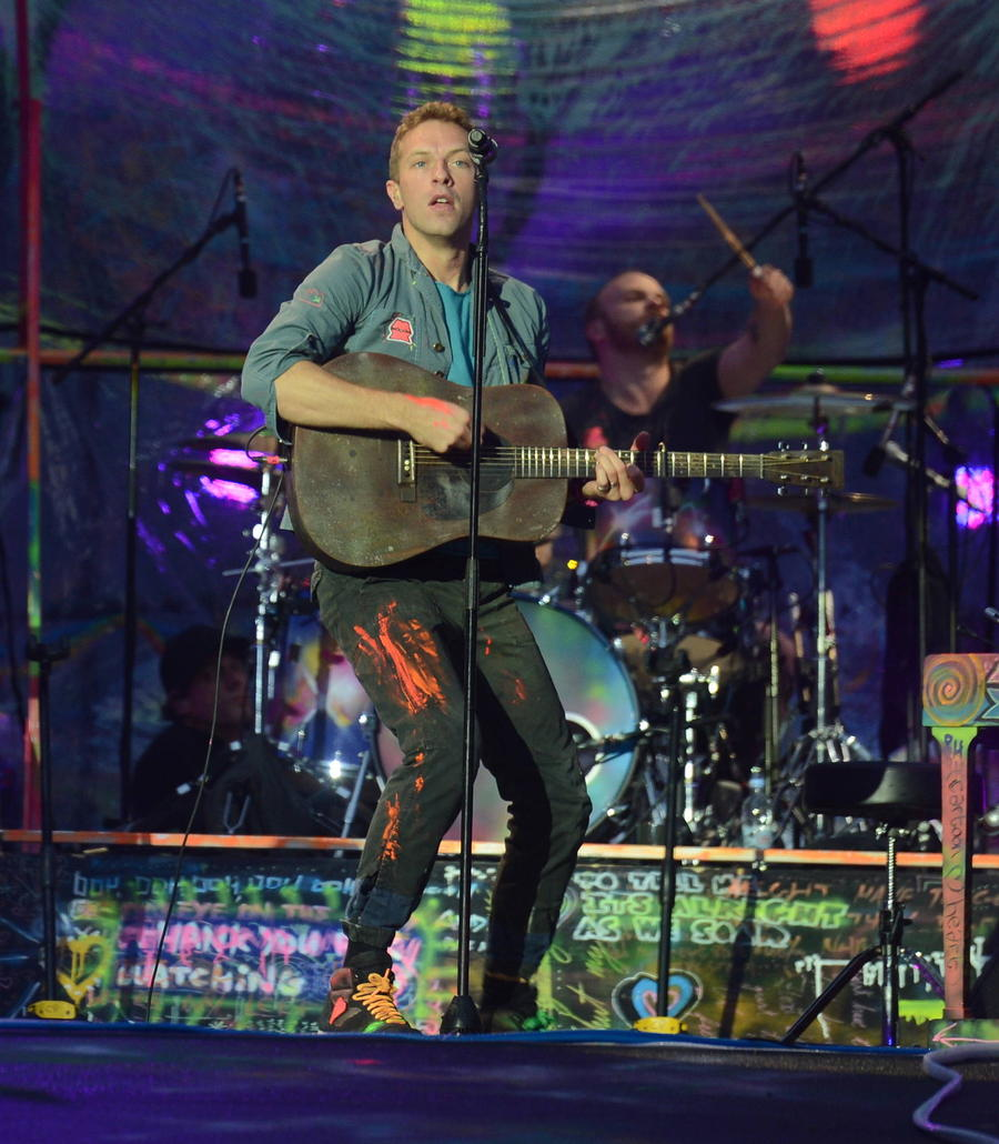 Coldplay Are First Confirmed Glastonbury Headliners
