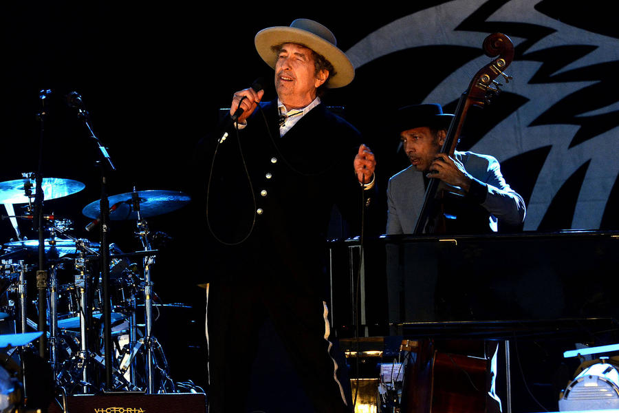 Bob Dylan 'Honoured' To Accept Nobel Prize