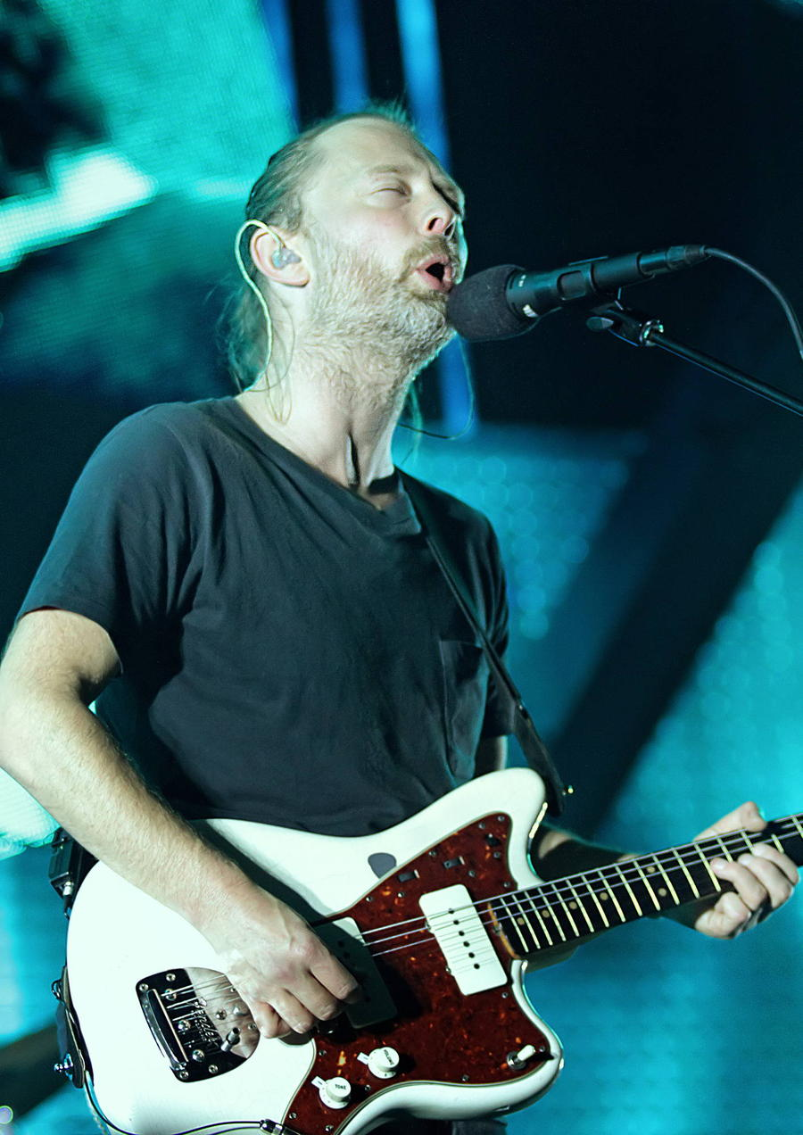 Radiohead Take New Album To The Top Of The U.k. Charts