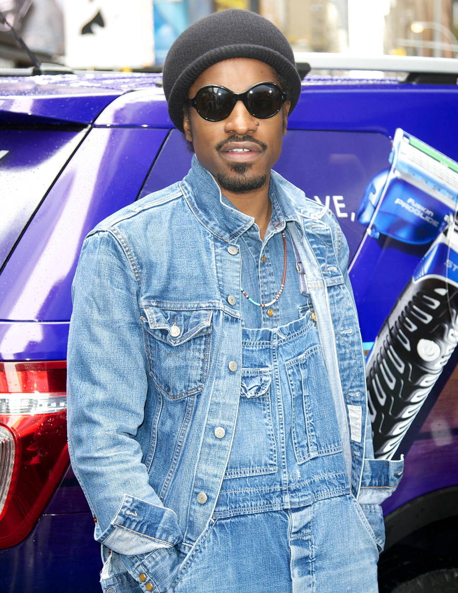 Andre 3000 Takes Uber Passenger To Kanye West Recording Session
