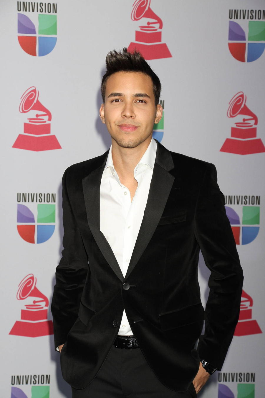 Prince Royce Shops For His Own Suit For Latin Grammys