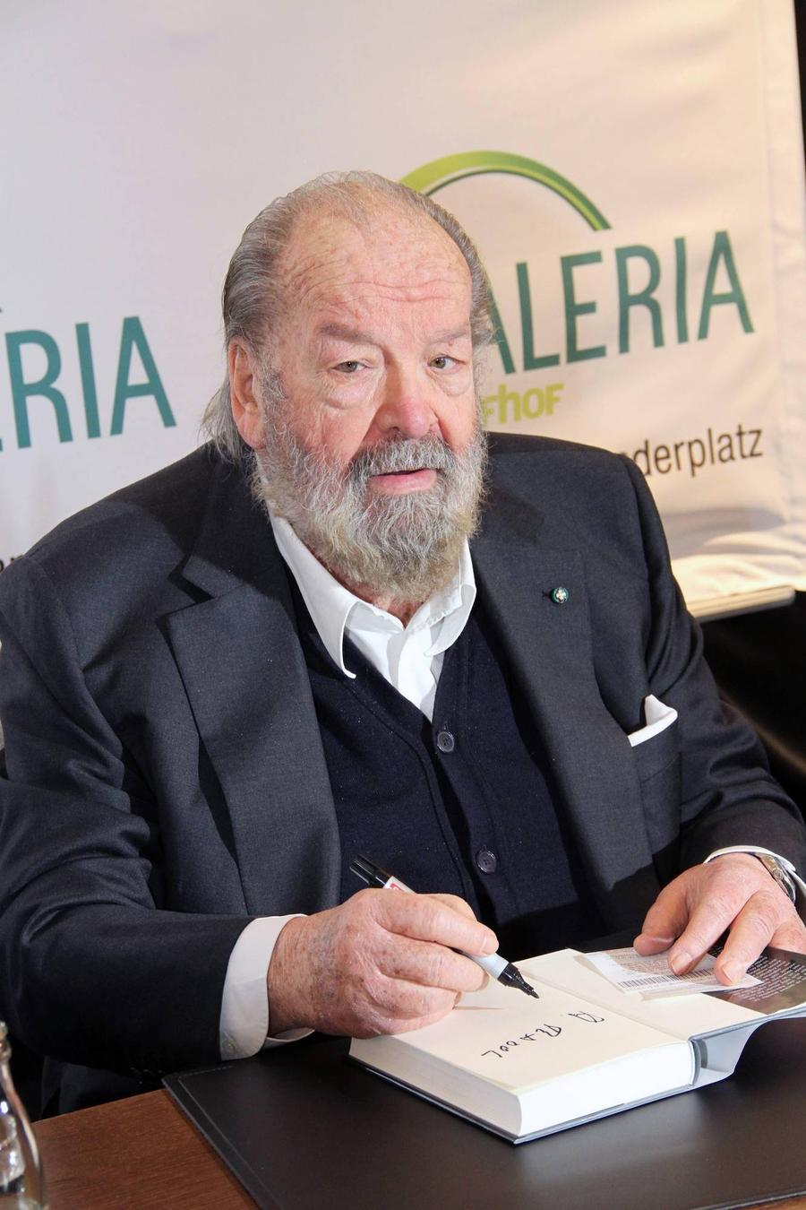Italian Film Star Bud Spencer Dead