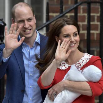 Prince William announces son's name
