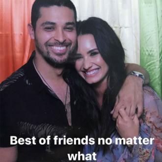 Demi Lovato and Wilmer Valderrama still best friends
