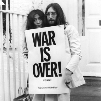 Yoko Ono used to turn up shy John Lennon's vocals
