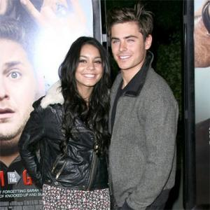 Zac Efron Seen Kissing Vanessa