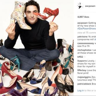Zac Posen Is 'Excited' For New Shoe Collections 'Journey'