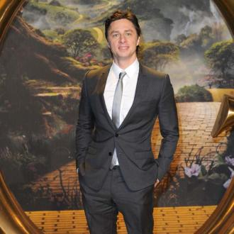 Zach Braff inspired by Kristen Bell