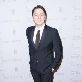 Zach Braff's sticky wine