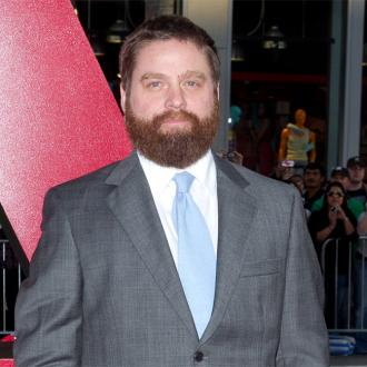 Zach Galifianakis quips he's given his kids joke names