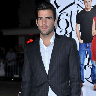 Zachary Quinto spoke at funeral