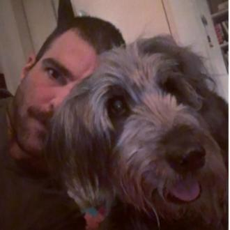 Zachary Quinto's dog has died