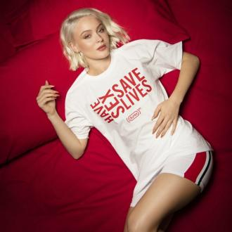 Zara Larsson teams up with Durex for AIDS awareness