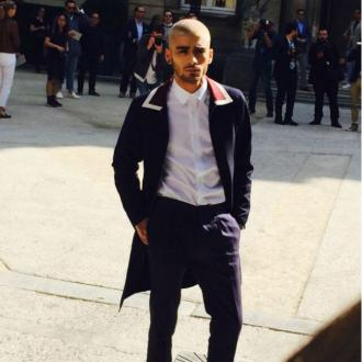 Zayn Malik Attends Fashion Show