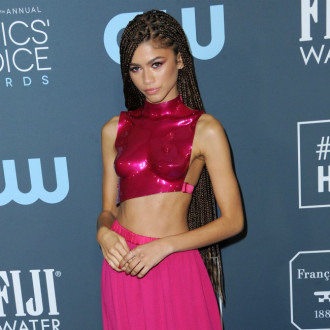 Zendaya 'grateful' to be back at work