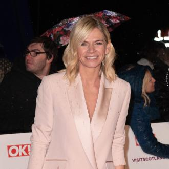 Zoe Ball loves gardening