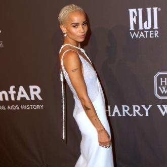 Zoe Kravitz thinks people wearing designer clothes look 'stale'