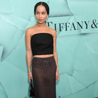 Zoe Kravitz felt an 'idiot' on green screen