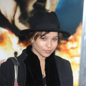 Zoe Kravitz Was Star-struck To Find Ashton Kutcher In Her House