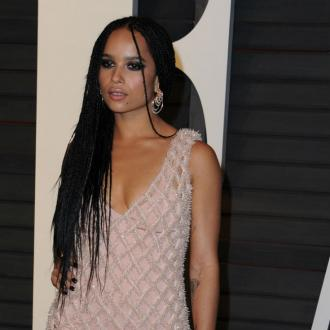 Zoe Kravitz is trying to love herself