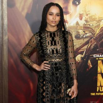 Zoe Kravitz's comedy ambitions