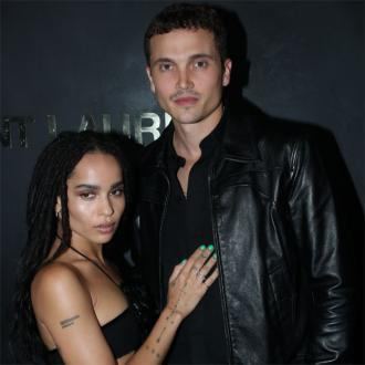 Zoe Kravitz enjoys safety of marriage to Karl Glusman