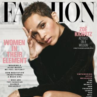 Zoe Kravitz: I want to speak out for those who can't