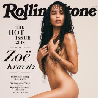 Zoe Kravitz engaged