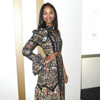Zoe Saldana's 'tribe' of helpers