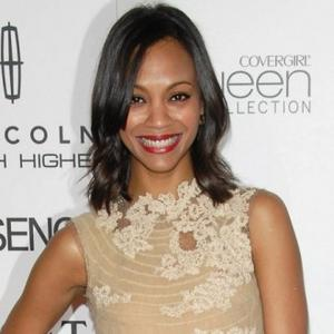 Simple Underwear Fan Zoe Saldana