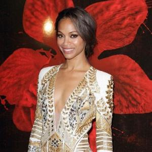 Zoe Saldana Aids Accident Victim