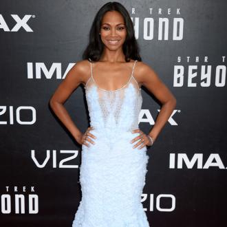 Zoe Saldana Loves Raising Three Boys