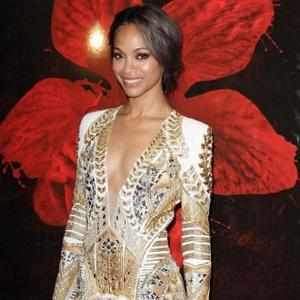 Zoe Saldana Unsure About Girly Colours