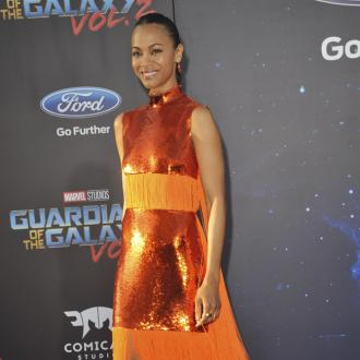 Zoe Saldana teases a collaboration of the Marvel movies is in the works